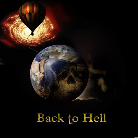 to hell and back back to hell picture by davex for huge skull photoshop contest pxleyes com