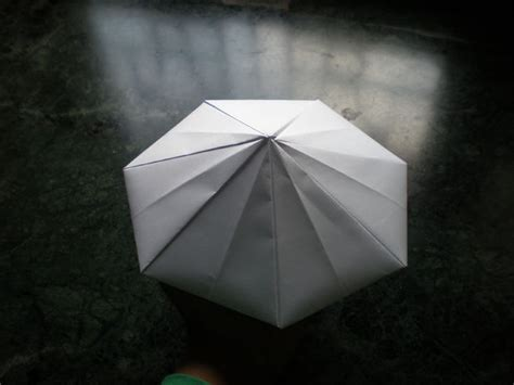 Origami Ufo - space origami mothership