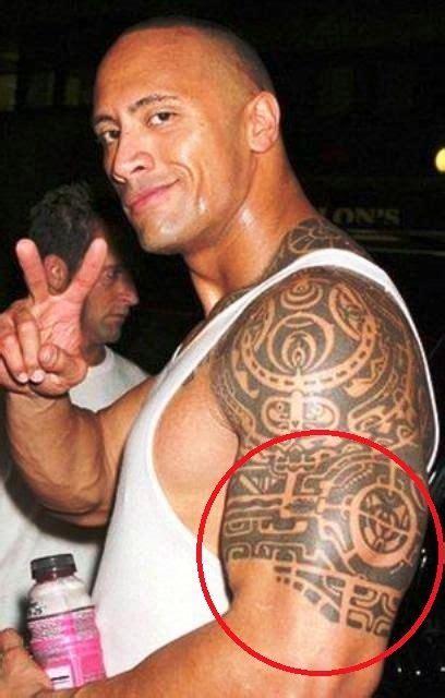 dwayne johnson tattoo left arm dwayne the rock johnson s 3 tattoos their meanings