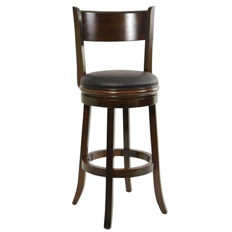 solid wood swivel bar stools boraam solid wood swivel bar stools