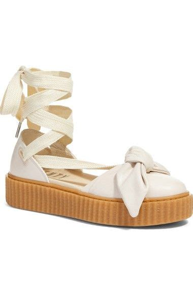 Rihanna Bow Crepers White 25 best ideas about by rihanna creeper on