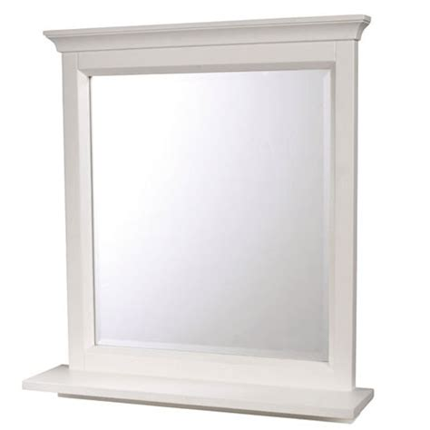White Bathroom Mirror With Shelf The White Company Bathroom Mirrors 10 Of The Best Housetohome Co Uk