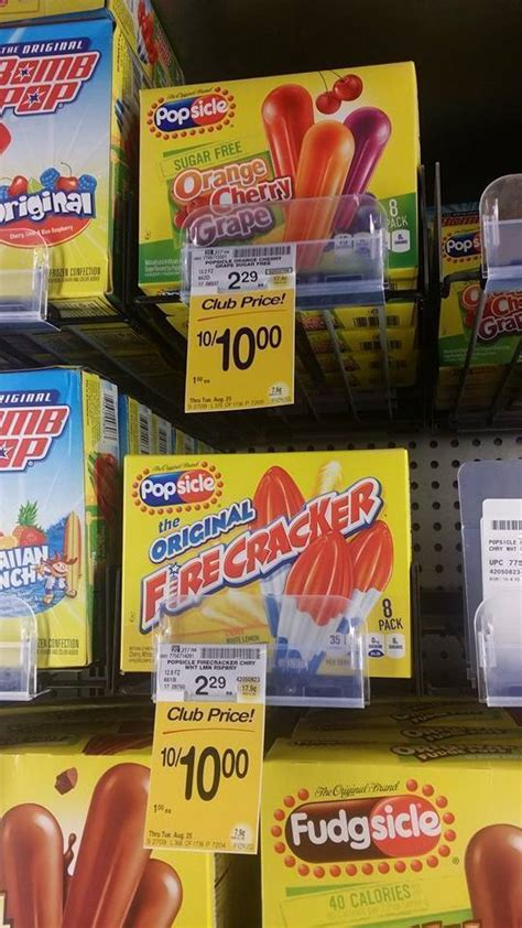 Where To Buy Safeway Gift Cards - safeway popsicle novelties just 50 buy 4 earn a 5 gift card