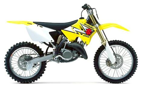 Suzuki Rmx 125 Suzuki Rm125 Model History The Water Cooled Models