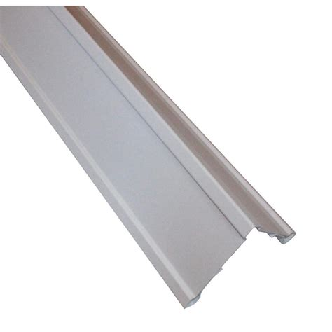 Vinyl Siding Clip on Super Corners 5.5 in. x 5.5 in. x 240 in. White Outside Corner Posts
