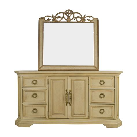 second hand dresser with mirror 90 off custom built dresser and mirror storage