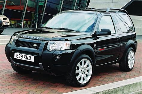 2003 land rover freelander pricing ratings reviews kelley blue book land rover freelander hardback from 2003 used prices parkers