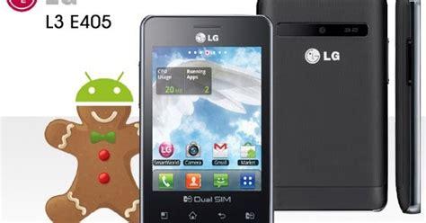 Handphone Lg Optimus L3 Dual E405 Best Smartphone Show Lg Optimus L3 Dual E405 Smartphone Design And Reviews