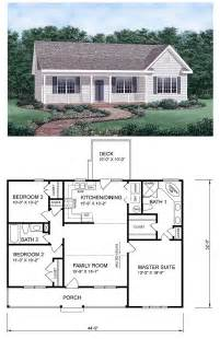 Small Ranch House Plans Gallery For Gt Small 3 Bedroom Ranch House Plans