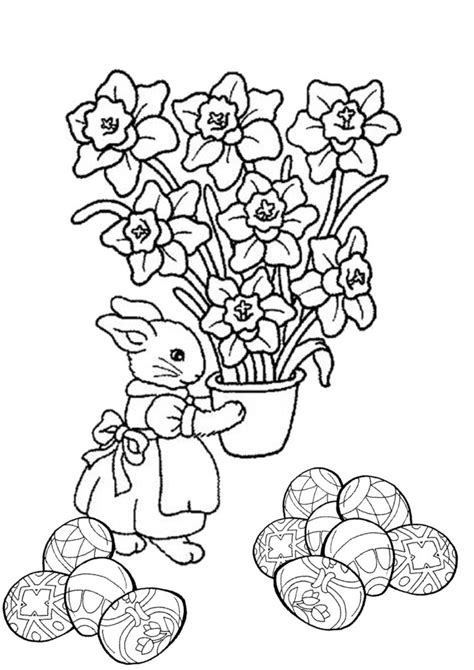 free coloring pages easter coloring pages