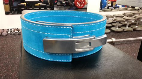 weight lifting belt bench press muscle production rakuten global market inzer lever action belt 10 mm turquoise