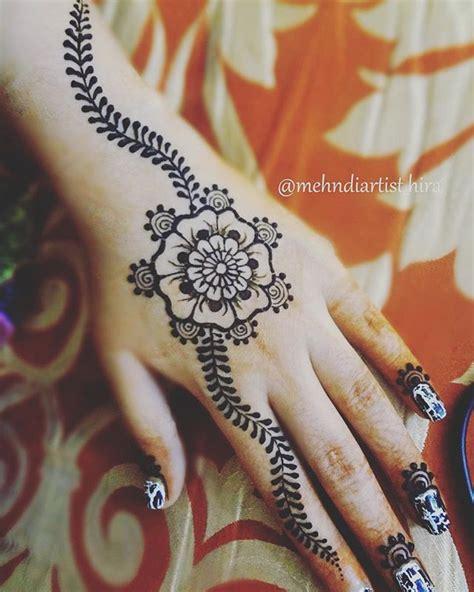 simple henna tattoo tutorial easy henna designs tutorial makedes