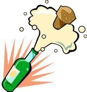 clipart capodanno brindisi di capodanno immagini con bottiglie e bicchieri