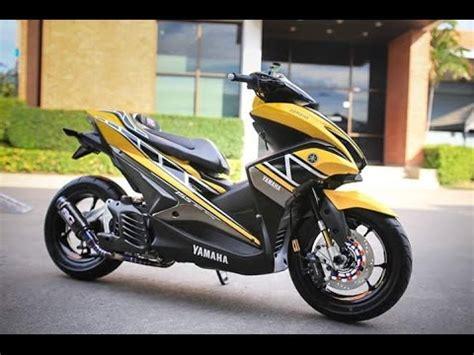 yamaha aerox  top speed specification  model bike