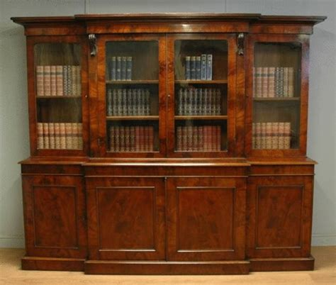 antique bookcases with glass doors wood bookcases with glass doors elegant cherry wood
