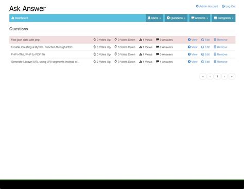 ask answer community script by umarian codecanyon