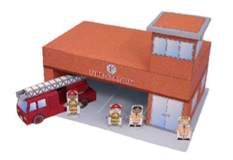 cfire crafts for station paper pictures