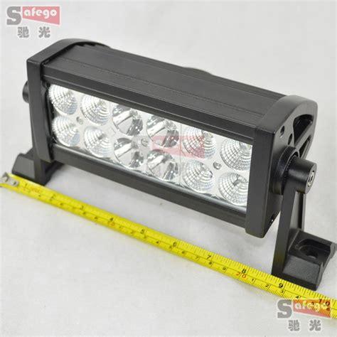 12 volt led light bar 36w 3w high intensity led car light