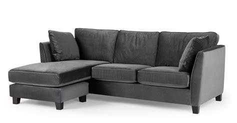 gray velvet sofa gray velvet sofa simple meridian furniture isabelle