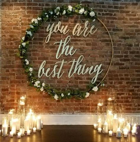 20 Best of Wedding Backdrop Ideas from Pinterest   Deer