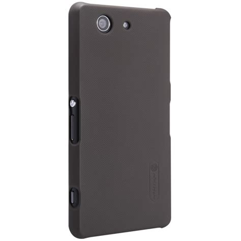 Hardcase Nilkin Prosted Xperia T3 nillkin frosted sony xperia z3 compact brown