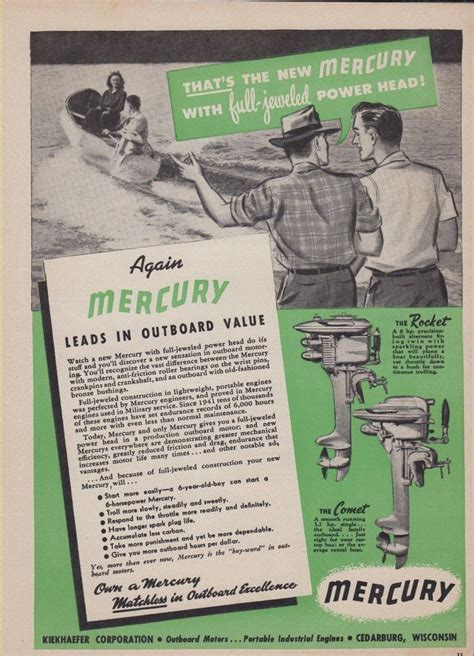 mercury outboard motors through the years mercury through the years page 479