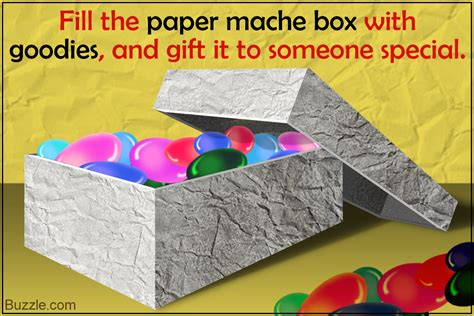 How To Make Paper Mache Products - how to make the cutest and most colorful paper mache boxes
