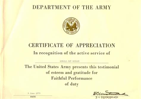army certificate of appreciation template untitled 1 www a70thvets