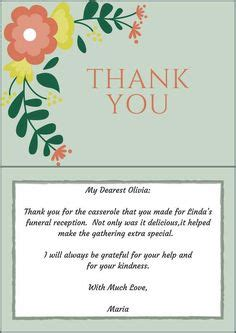 Funeral Thank You Card Etiquette