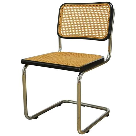 sedia marcel breuer mid century cesca chair by marcel breuer at 1stdibs