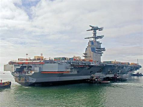 gerald ford class us navy 21st century cvn 78 ford class