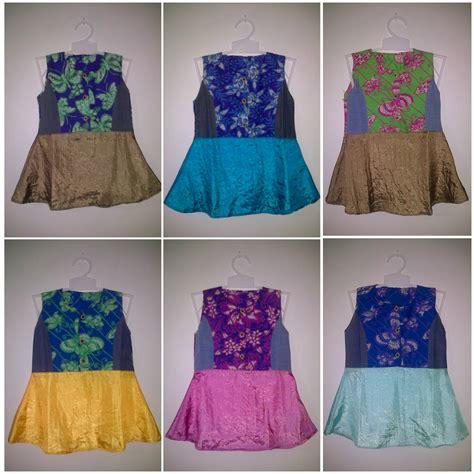 Dress Batik Anak Jogja Murah Katun baju batik modern pekalongan dress anak anak murah pusat grosir baju batik modern