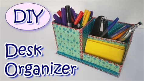 How To Make Desk Organizers how to make a desk organizer diy crafts