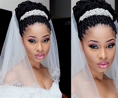Wedding Hairstyles For Box Braids by 50 Superb Black Wedding Hairstyles