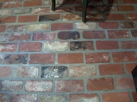 st louis antique brick floor tile acadian brick