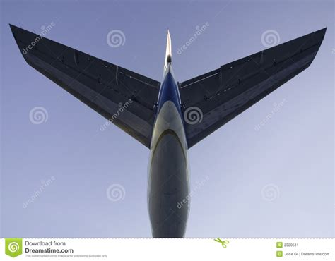 tail section of an airplane jet plane tail 3 stock image image 2320511