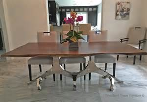 Modern Wood Dining Room Tables Modern Wood Dining Table Edges Stainless Steel