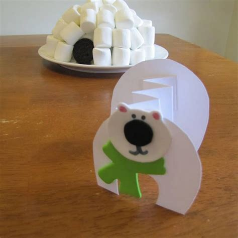 How To Make Igloo House With Paper - marshmallow igloos and polar bears winter