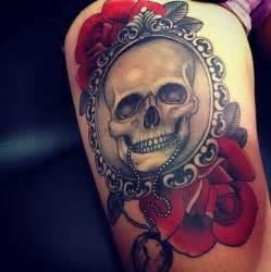 Flower Sugar Skull - tatuajes de calaveras