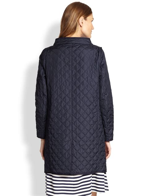 Max Mara Weekend Quilted Jacket by Weekend By Maxmara Bozen Quilted Jacket In Blue Lyst
