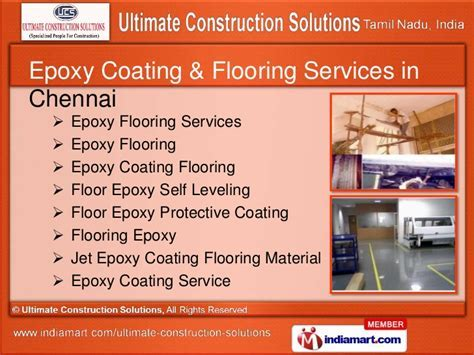 Epoxy Coating Service by Ultimate Construction Solutions