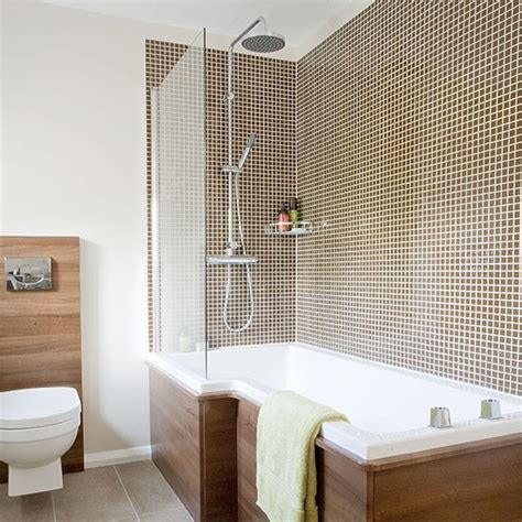 space saving shower baths how to make the most of a small shower room shower rooms housetohome co uk