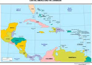 labeled map of central and south america maps of the americas