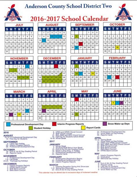 Columbus Schools Calendar Home School District Two