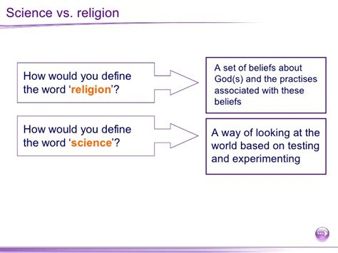 science vs religion impiety religion and science as