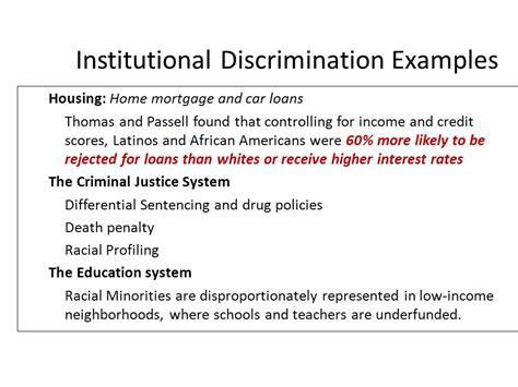 institutional discrimination images