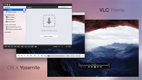 themes vlc vlc theme os x yosemite by baklay on deviantart
