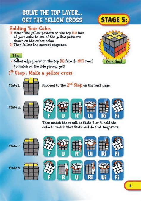 tutorial rubik pdf cara menyelesaikan rubik 3x3x3 dengan cepat rubik murah