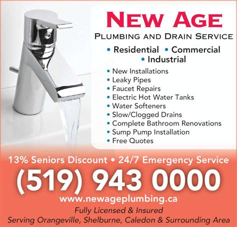 New Age Plumbing by New Age Plumbing Opening Hours 34 Ontario St