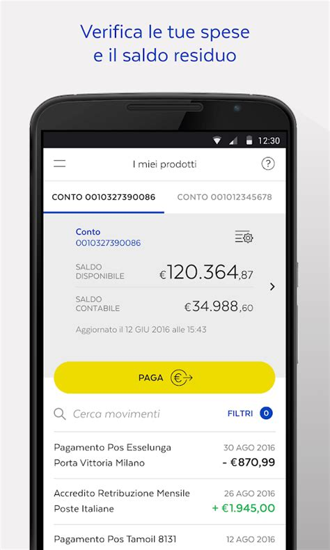 poste italiane banco posta bancoposta android apps on play